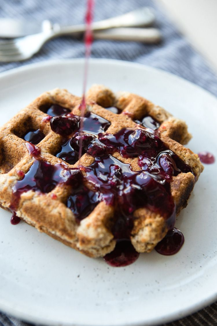 Ontario Berry Syrup The perfect waffle topper for breakfasts in bed for your summer sweetheart.