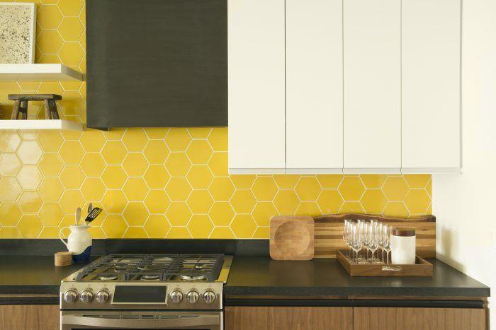 Bright Honeycomb Tile Kitchen Installation Gallery Fireclay Tile Honeycomb Tiles Kitchen Fireclay Tile Kitchen Fireplace
