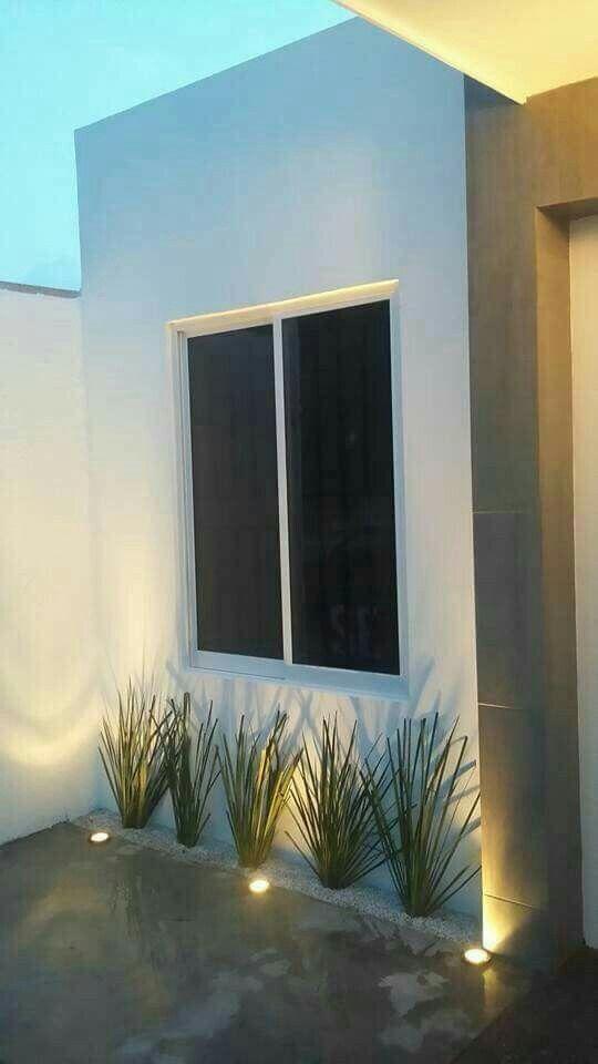 Pin de mauri justiniani en exteriores casas peque as for Decoracion de exteriores de casas pequenas