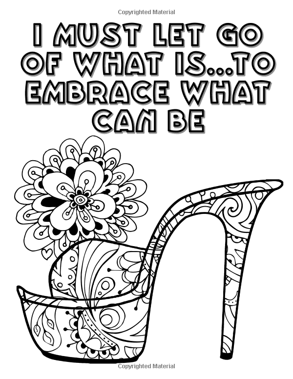Pin On Shoes Coloring Pages For Adults