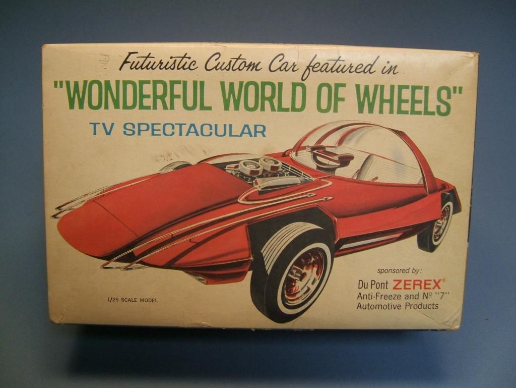 First Kit I Ever Built Dad Bought It For Me In 1970 At Autorama