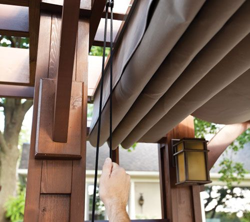 Do It Yourself Retractable Pergola Canopy Google Search