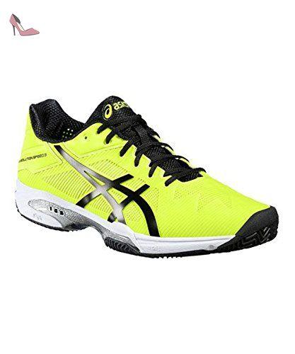 ASICS GEL SOLUTION SPEED 3 CLAY Jaune NOIR E601N 0790 - Chaussures asics (*Partner-Link)
