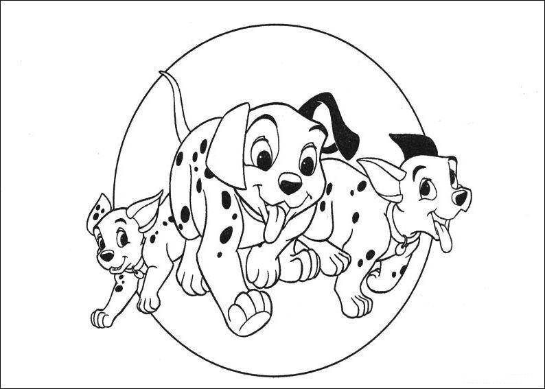 Dibujos De 101 Dalmatas Para Colorear Pintar E Imprimir Gratis Paginas Para Colorear Disney Paginas Para Colorear Para Ninos Dibujos Para Colorear Disney
