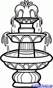 Water Fountain Drawing : water, fountain, drawing, Drawings, Water, Fountains, Google, Search, Drawings,, Sketch,