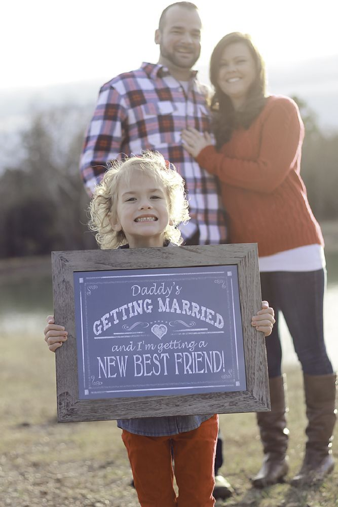 Wedding Photography Consultant: Blended Family Engagement Photo