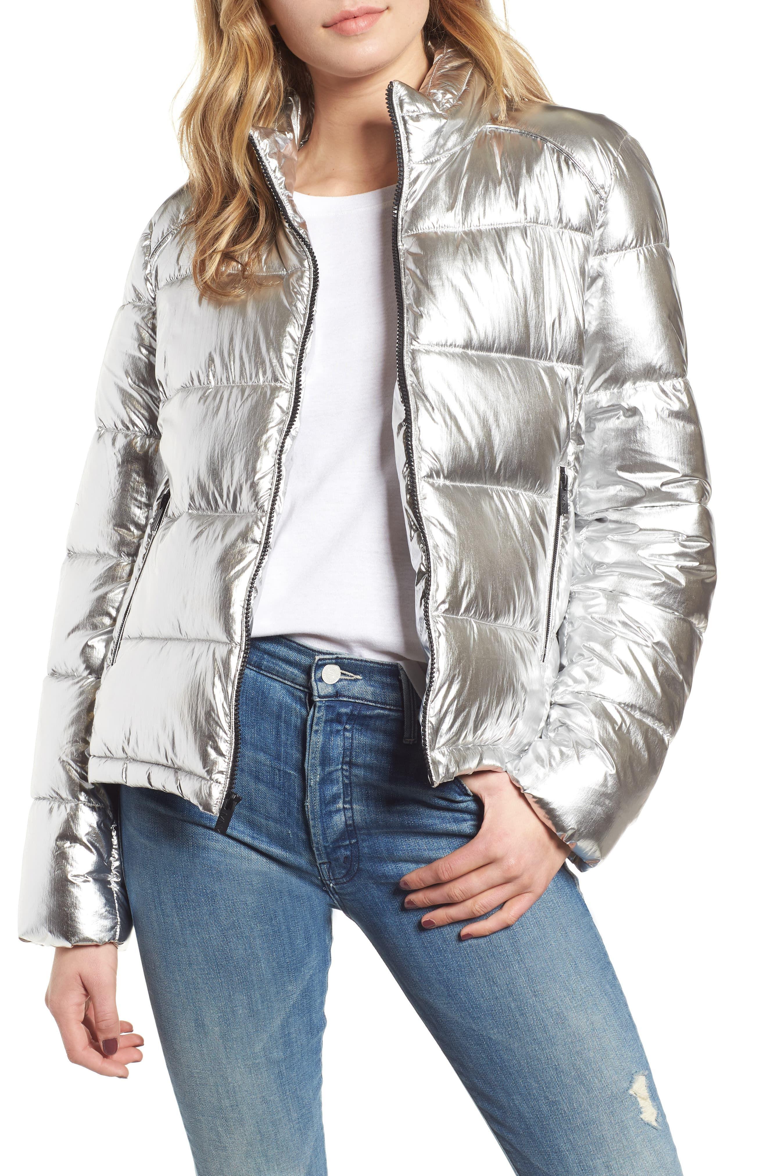 Marc New York Metallic Puffer Jacket Nordstrom Puffer Jacket Outfit Silver Puffer Jacket Silver Jacket Outfit [ 4048 x 2640 Pixel ]