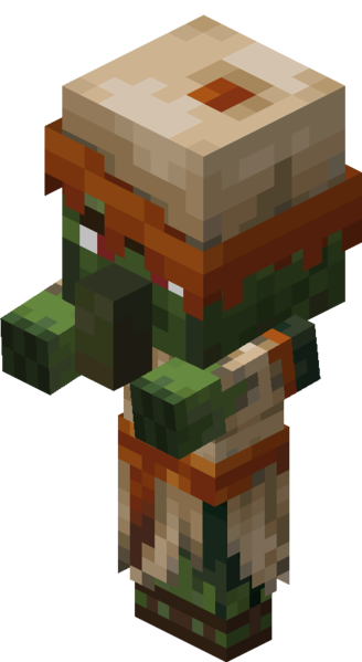 File Desert Baby Zombie Villager Png Official Minecraft Wiki