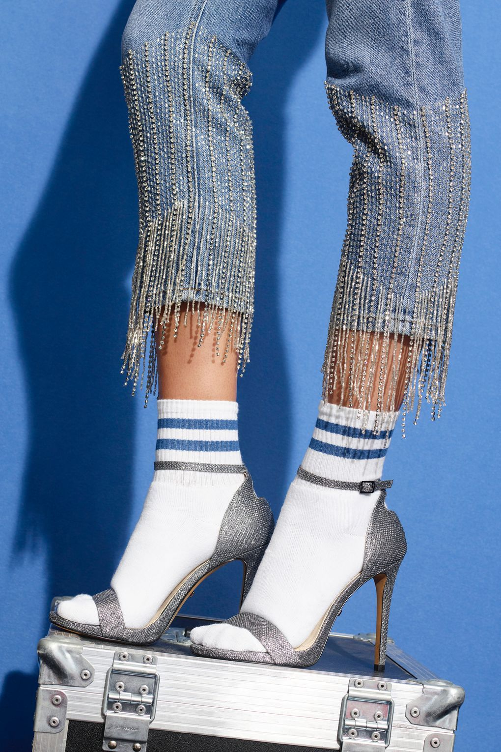 5b97197c7283 Limited Edition Straight Leg Dazzle Hem Jeans in 2019 ...