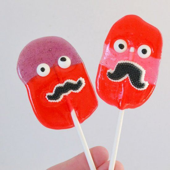 These suckers are so easy to make and the little ones will love the faces!