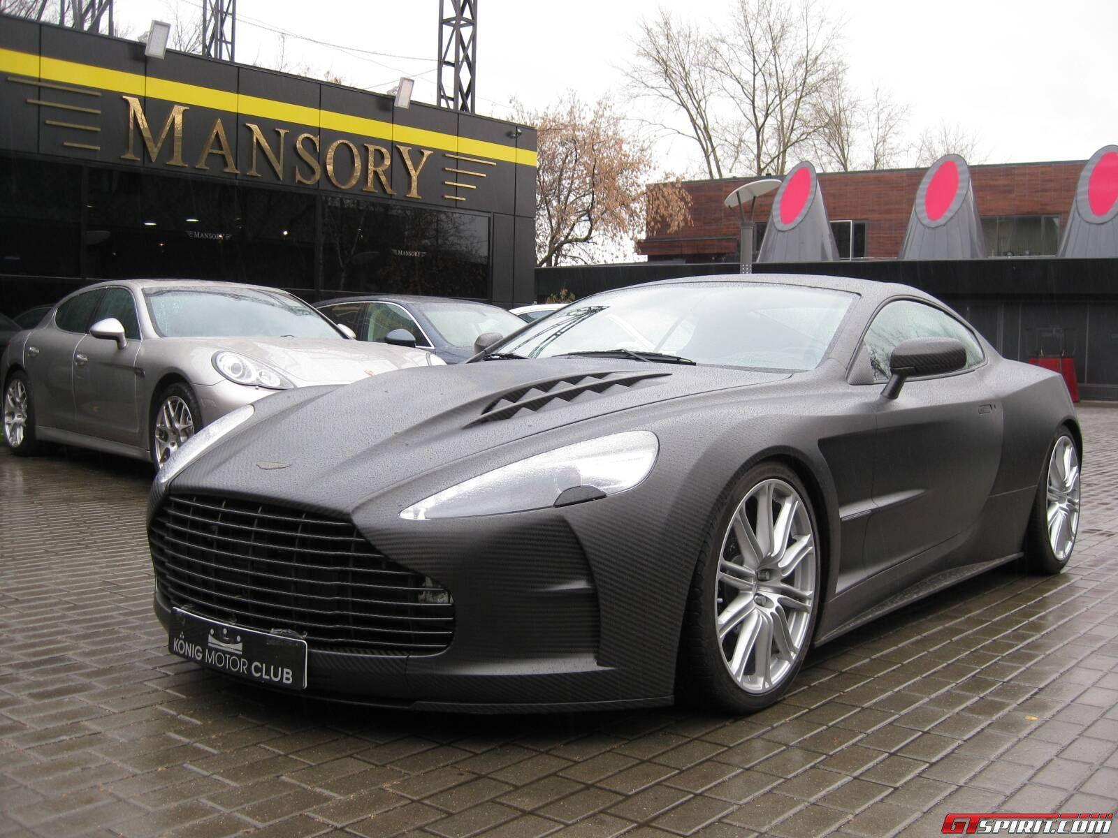 Mansory Cyrus a carbon fibre rebo d Aston Martin DBS