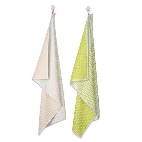Hay Geschirrtuch Tea Towel 2er-Set, landscape dots #HAY #artvoll #TopMarke www.artvoll.de