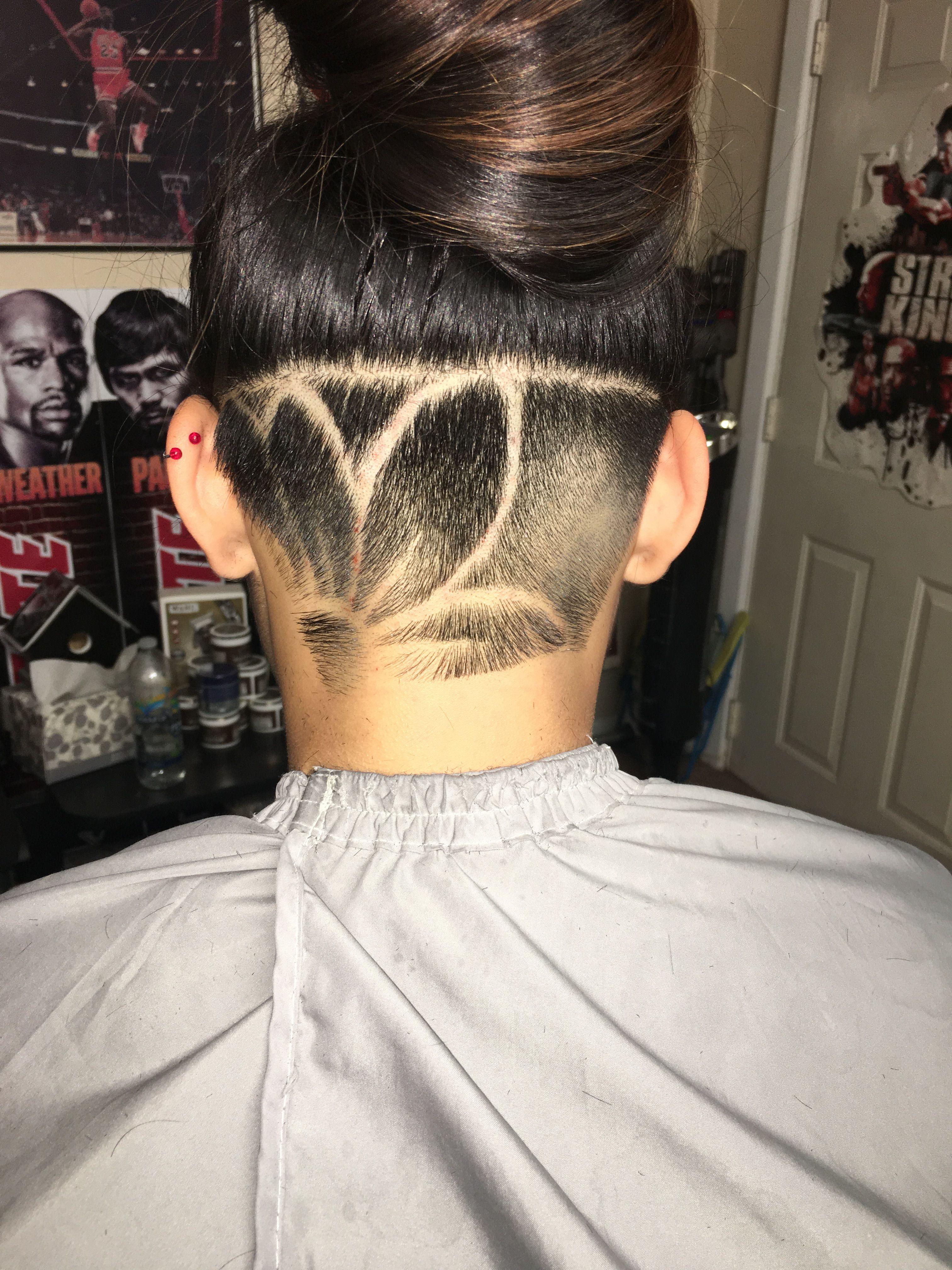 undercut #design | beauty in 2019 | undercut long hair