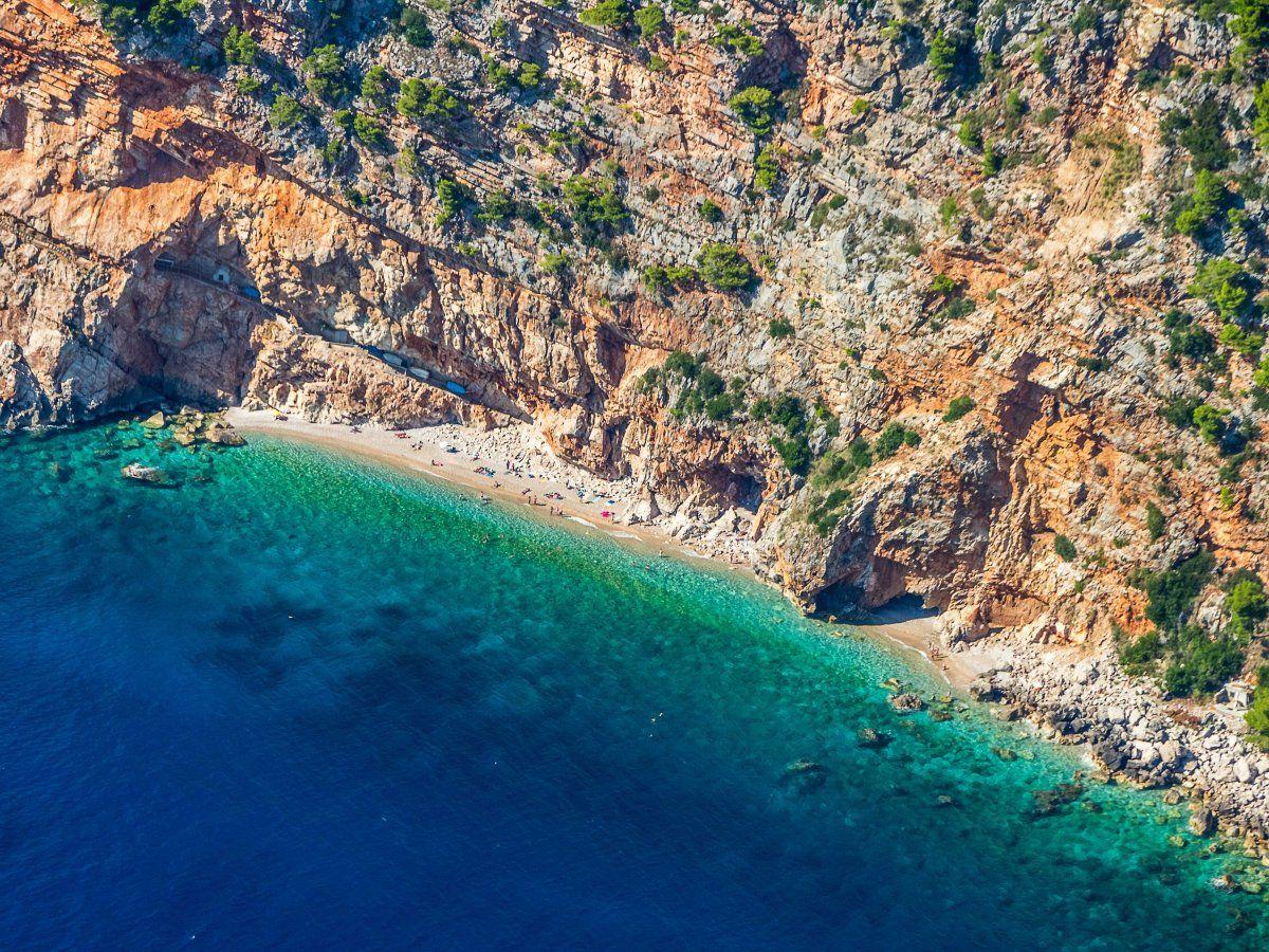 14 photos of beaches in Croatia Hidden beach