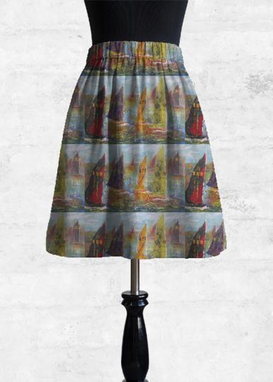 Hot Sale Sale Online Best Wholesale Online Cupro Skirt - Poppy Cupro Skirt by VIDA VIDA Discount With Paypal Sale Cost Buy Cheap Huge Surprise JWm52e