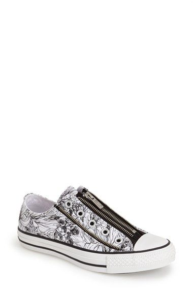 edb4d724bb07e0 Converse Chuck Taylor® All Star® Tri Zip Slip-On Sneaker (Women) available  at  Nordstrom