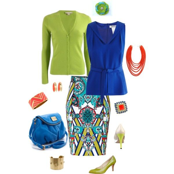 """""""Easy Summer Office"""" by elishabird on Polyvore"""