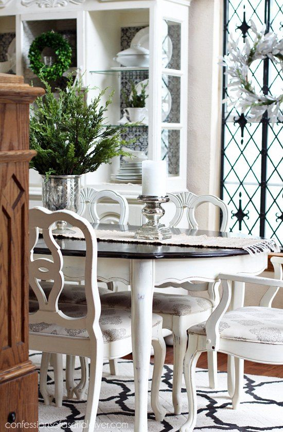 Exceptional Dining Room Table Makeover Ideas Part - 1: Dining Room Table Makeover
