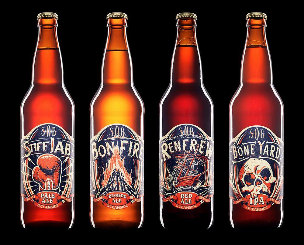 S O B Boneyard Ipa Beer Packaging Design Beer Packaging Beer Design