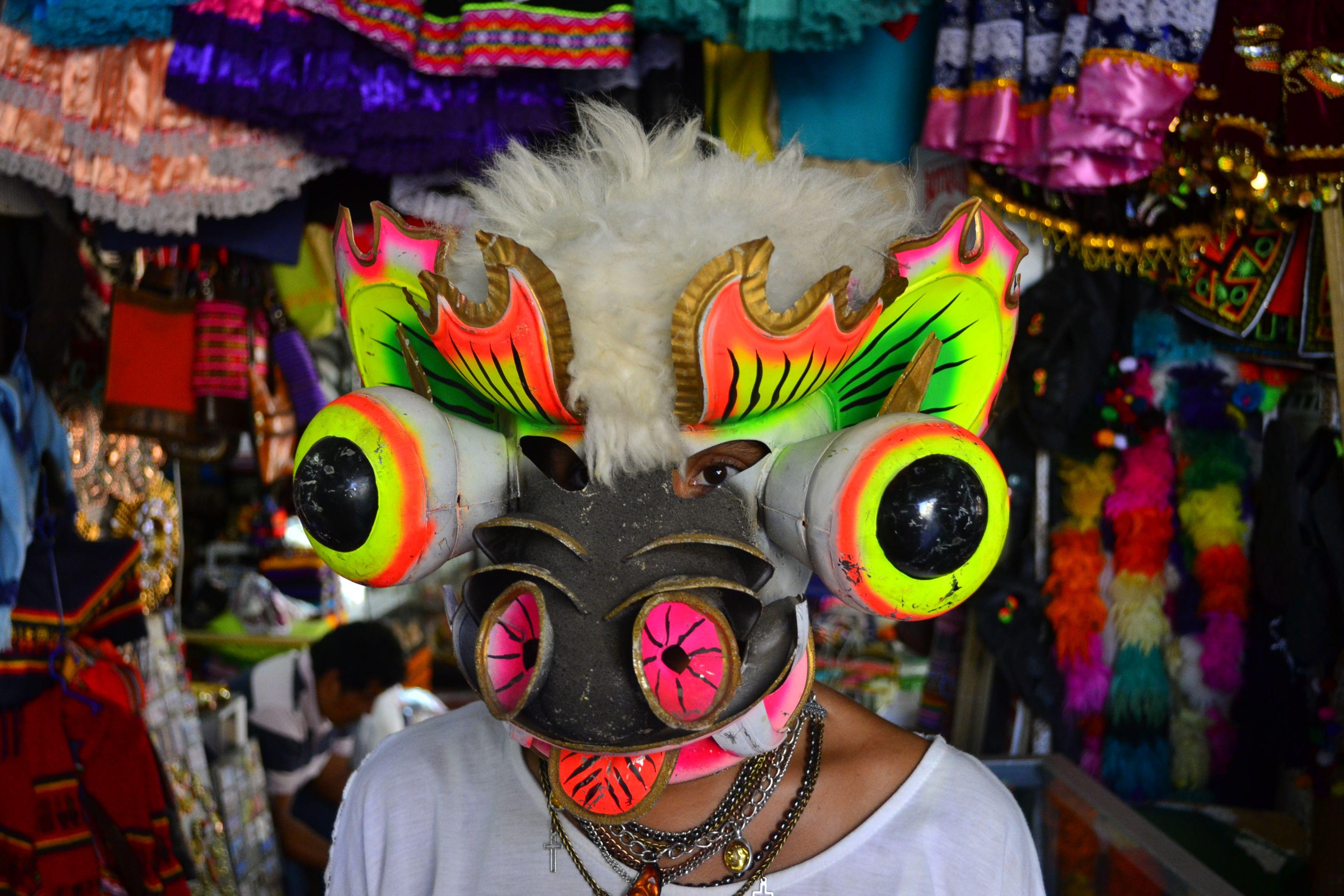 máscara diabladas altiplano