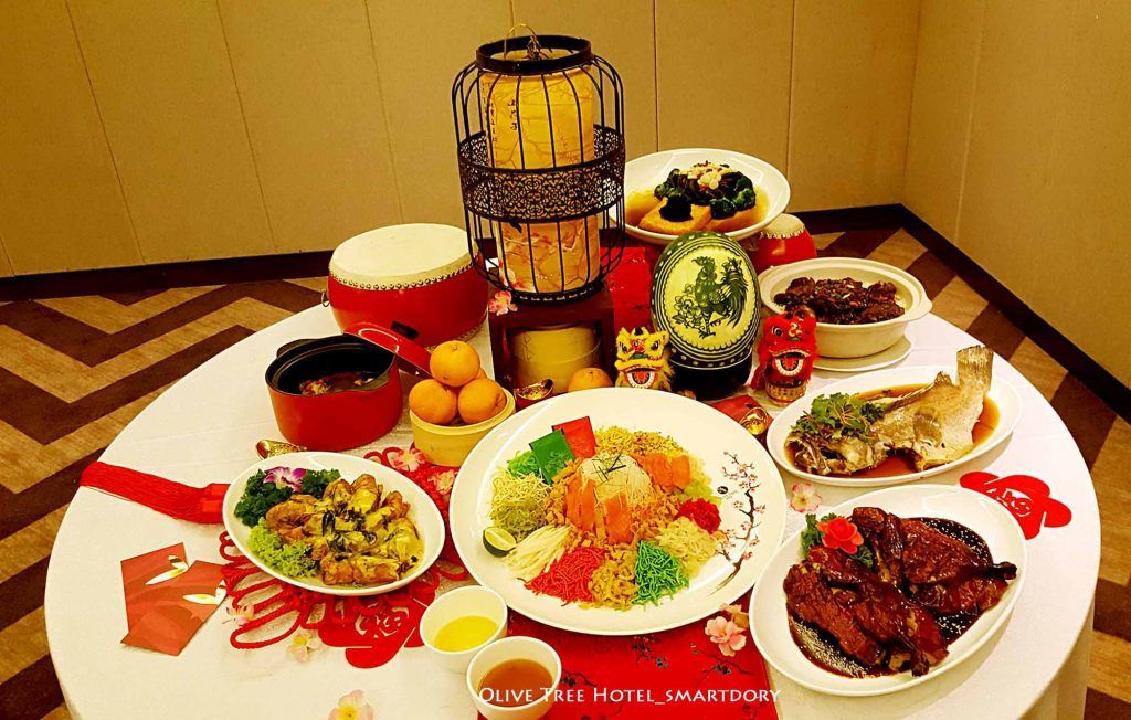 Family Reunion Buffet Dinner 2017 Olive Tree Hotel Penang 5 In 2020 Dinner Homemade Tofu Warm Desserts