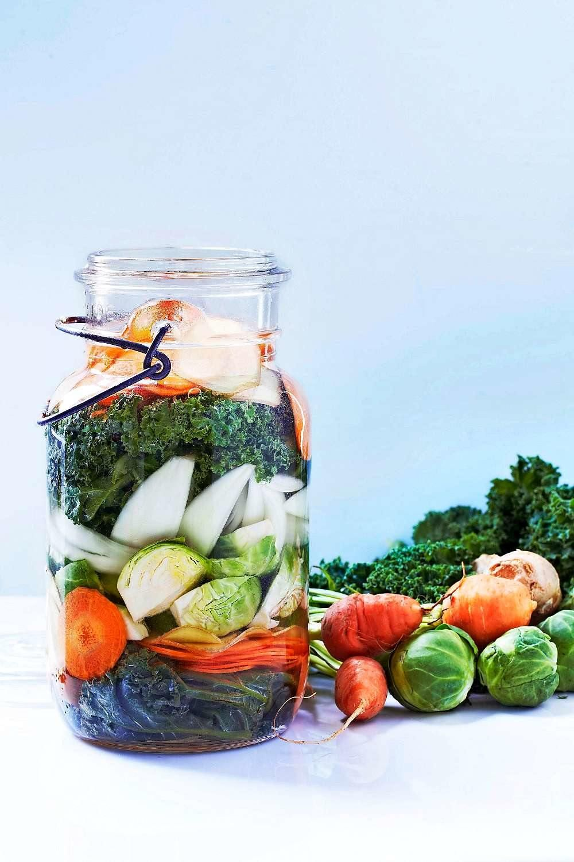 Recept på syrade grönsaker