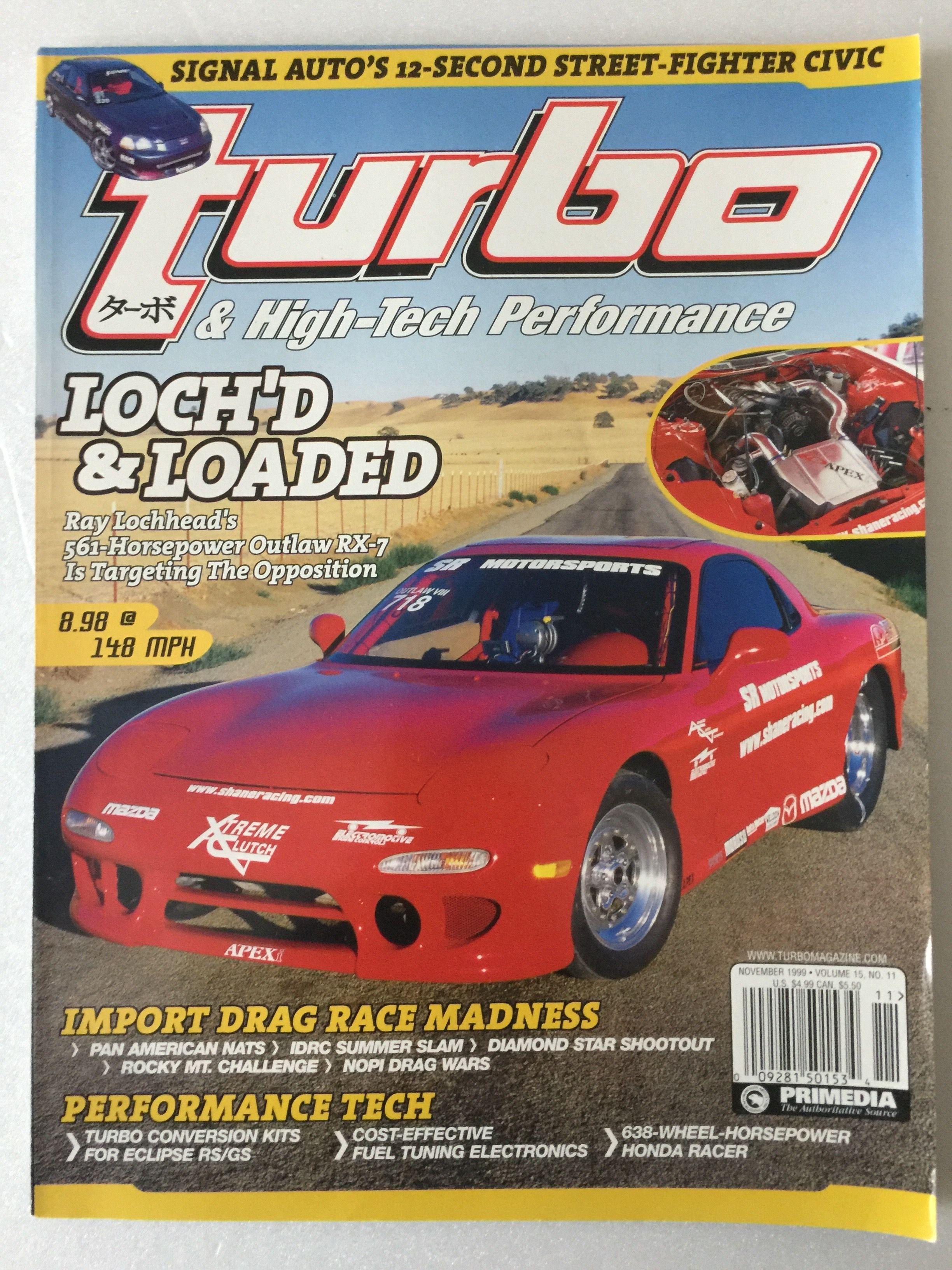 Turbo High Tech Performance November 1999 Was An American Car