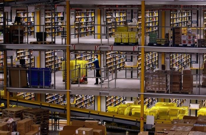 A Fascinating Look Inside Amazon's Warehouses