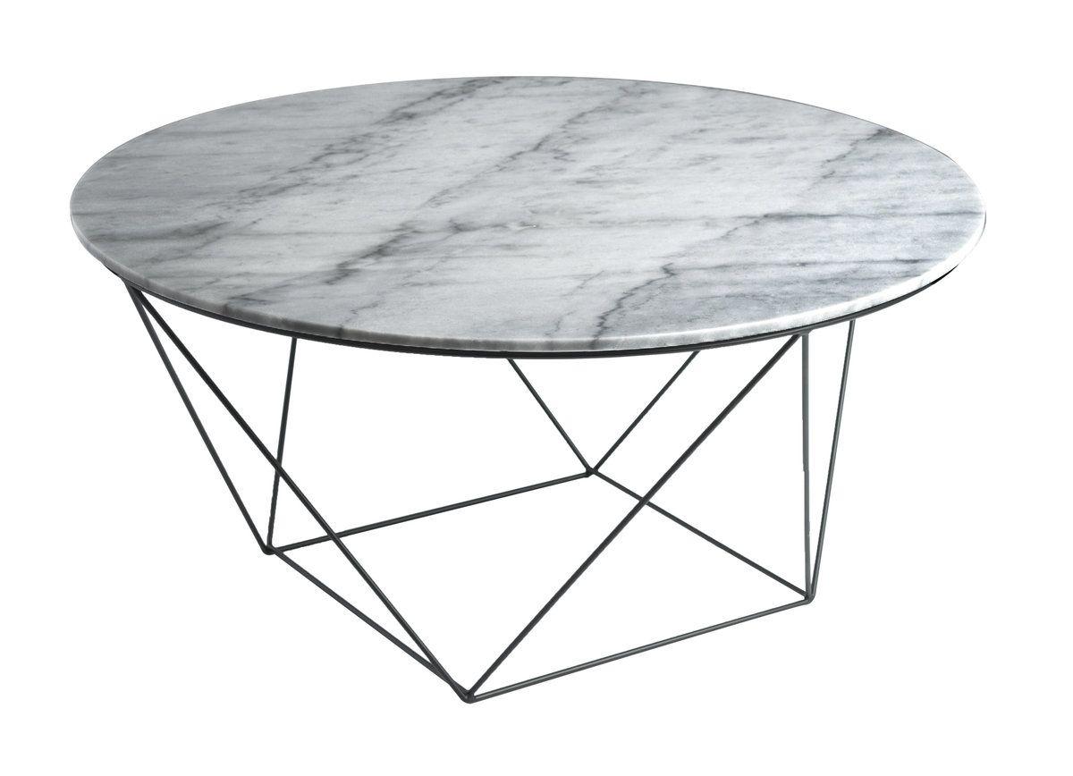 Awe Inspiring Valencia Round Coffee Table Grey Marble Top Black Matte Inzonedesignstudio Interior Chair Design Inzonedesignstudiocom