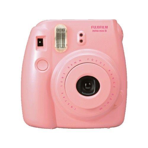 Appareil Photo Polaroid Fuji Instax Mini 8 Rose Avec Recharges