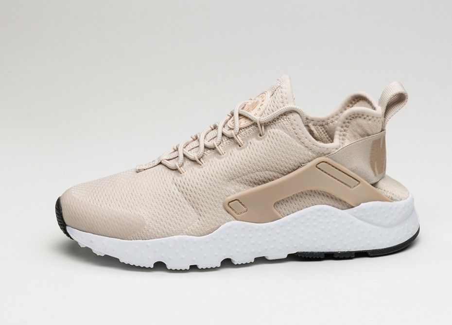 Nike Wmns Air Huarache Run Ultra (Oatmeal / Linen - White - Black)