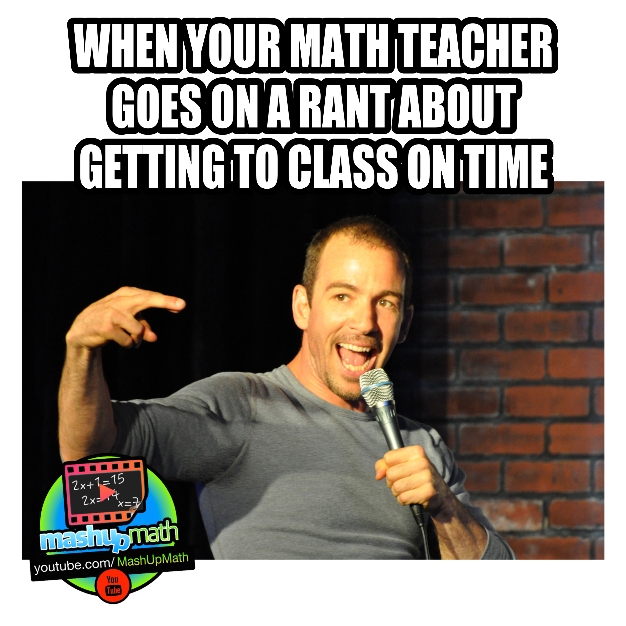 Who Knows That Teacher Who Is Always Going Off On Rants