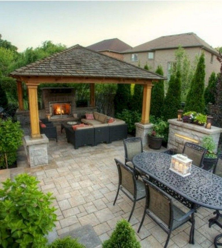 33 Comfy Backyard Patio Design Ideas Backyard Patio Backyard