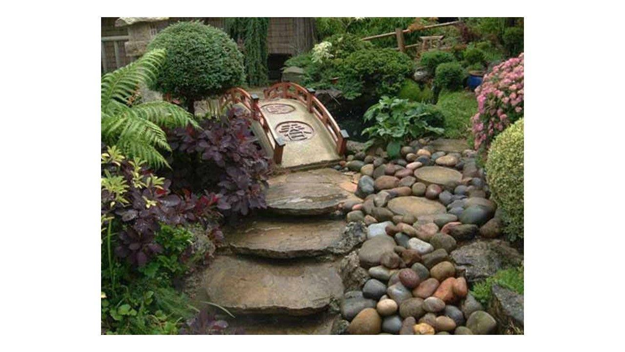 Decoracion De Jardines Con Piedras Y Troncos Decoracion Llena De Armonia Y Disenos Creativos En Los Jardin Decoraciones De Jardin Jardin Con Piedras Jardines
