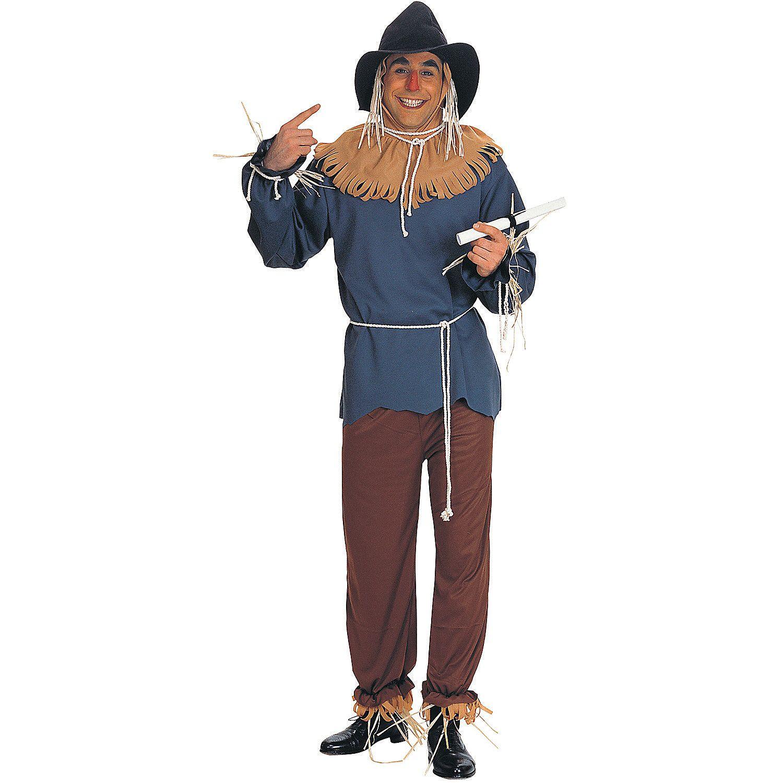 Men's Wizard of Oz Scarecrow Costume #scarecrowcostumediy