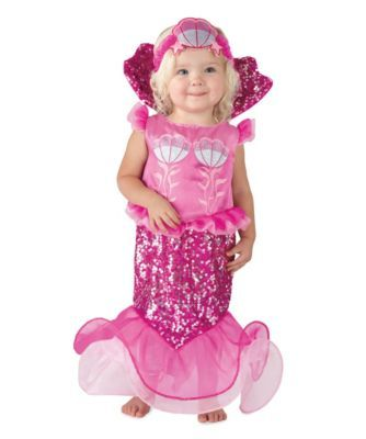 eed535fd41d5 Toddler mermaid costume, this is practical for a 1-2 year old ...