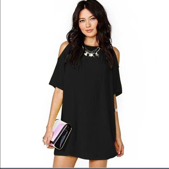 Short Black Cut Out Dresses