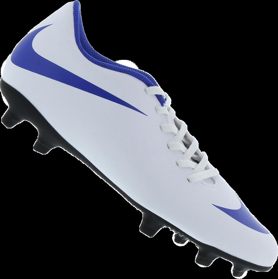 a4d2521f9cc70 A Chuteira Nike Bravata II FG Campo Masculina é feita em material  sintético, possui trava