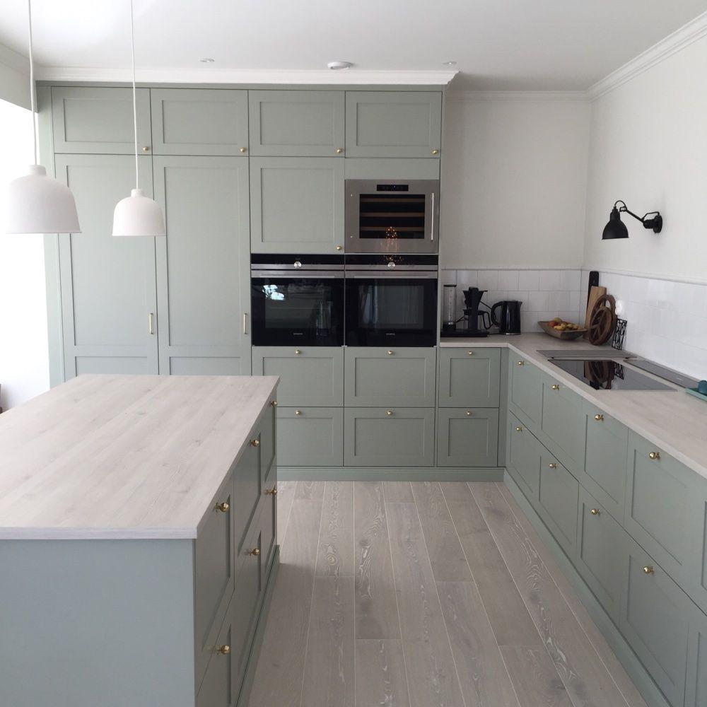 Ikea Kitchen Design Ideas: Köksluckorna Och Knoppar är Från Järfälla Kök, Bänkskiva