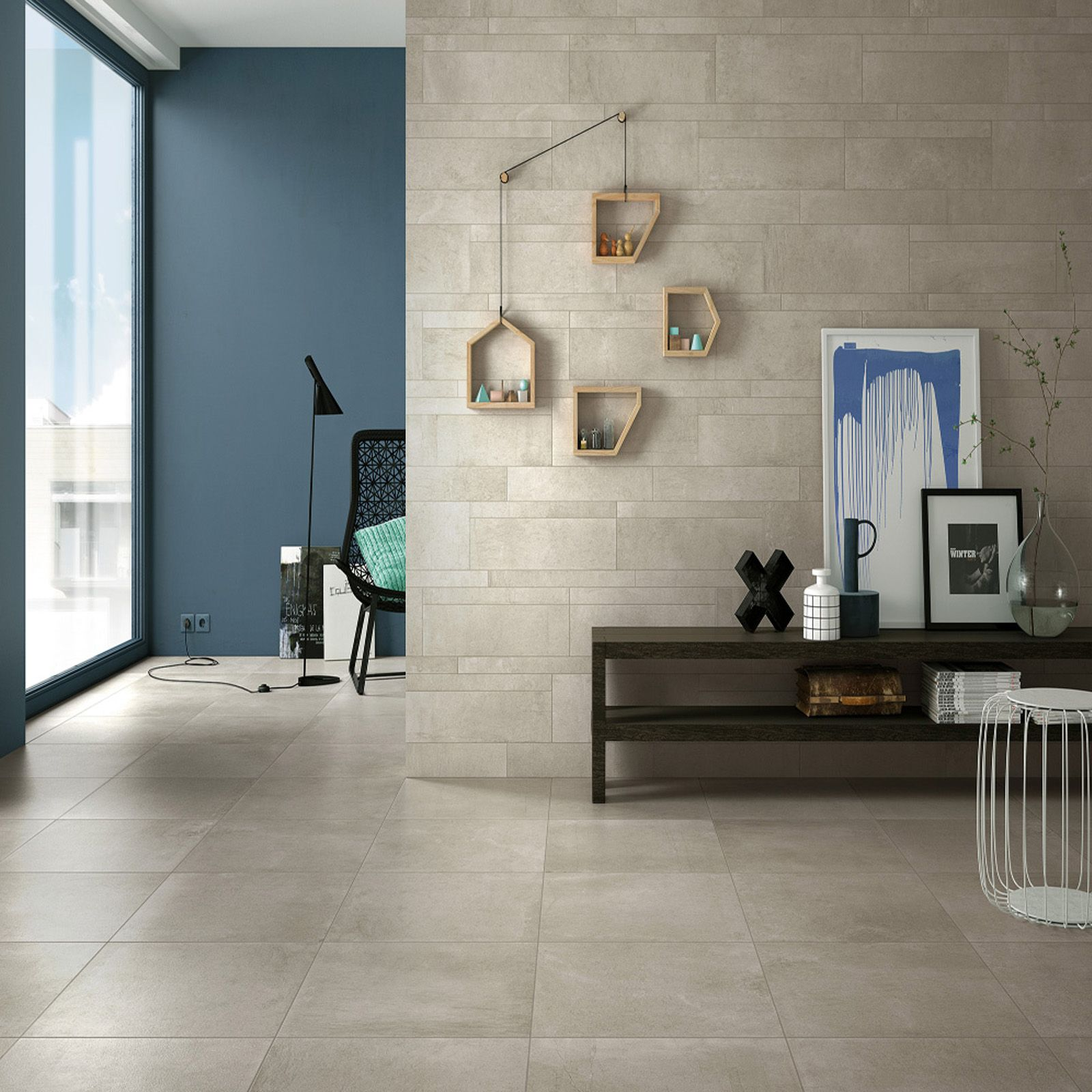 Stylish Living Room Decor Idea Featuring Novemb3r Tiles From Mirage