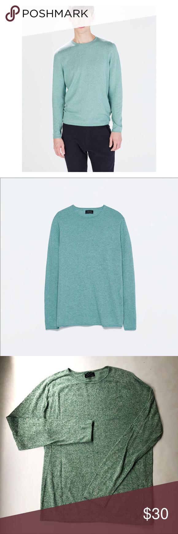 eb4b89fca Zara  HOST PICK Basic Mens Knit Sweater Size XL in 2018