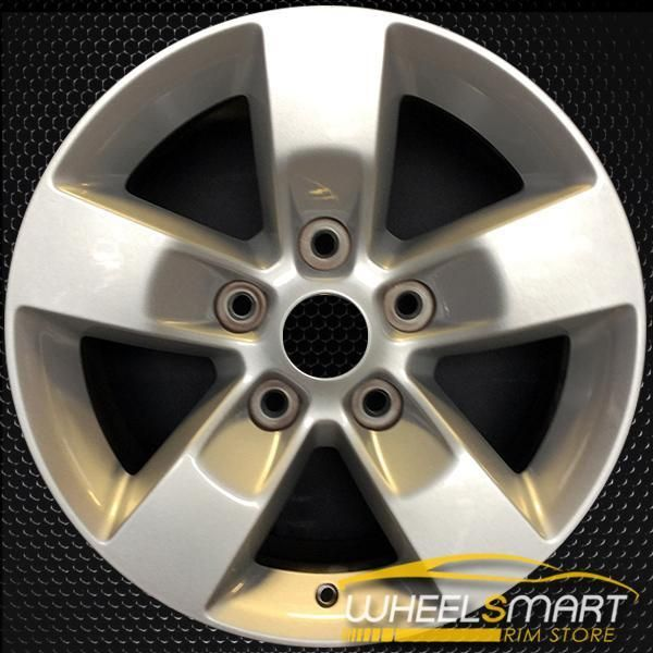 "17"" Dodge Ram 1500 OEM Wheel 2013-2015 Silver Alloy Stock"