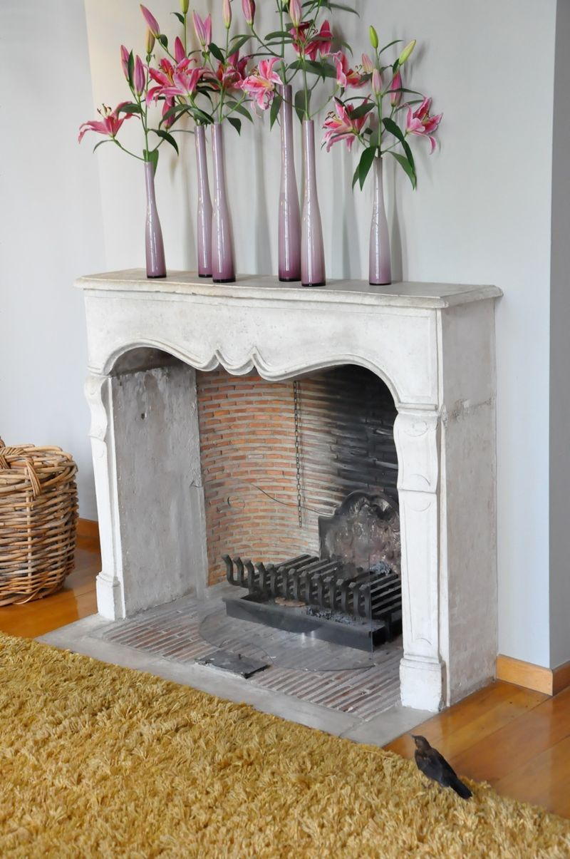 Curved brick inside fireplace BRICK ALL AROUND Pinterest