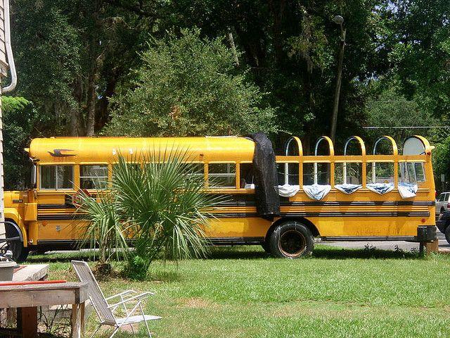 Customized Yellow School Bus Yellow School Bus School Bus