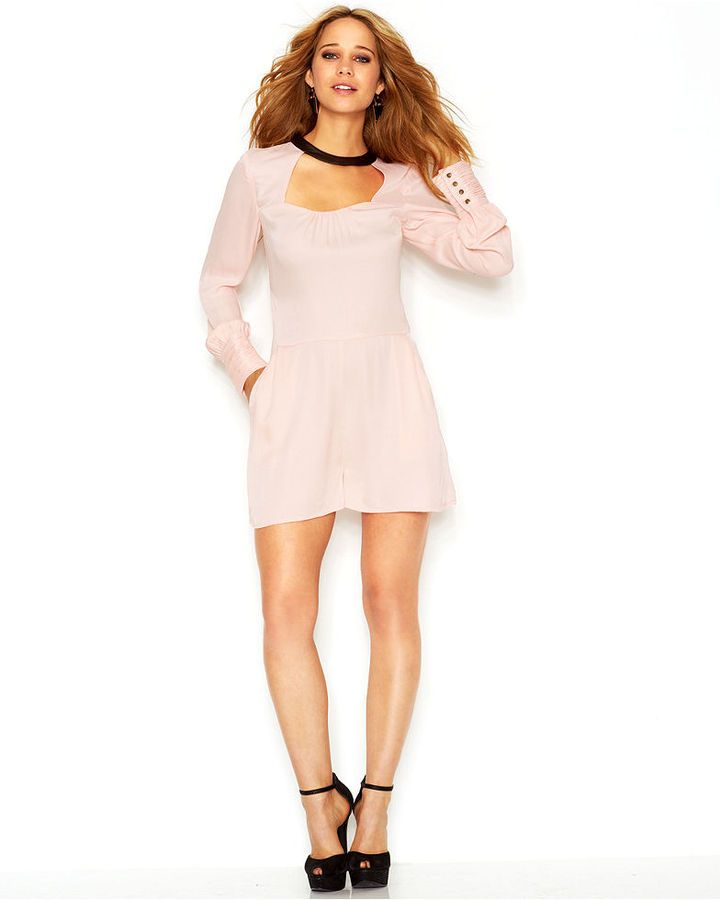 9e3d81c8389c Pink Playsuit by GUESS. Buy for  64 from Macy s Pink Playsuit