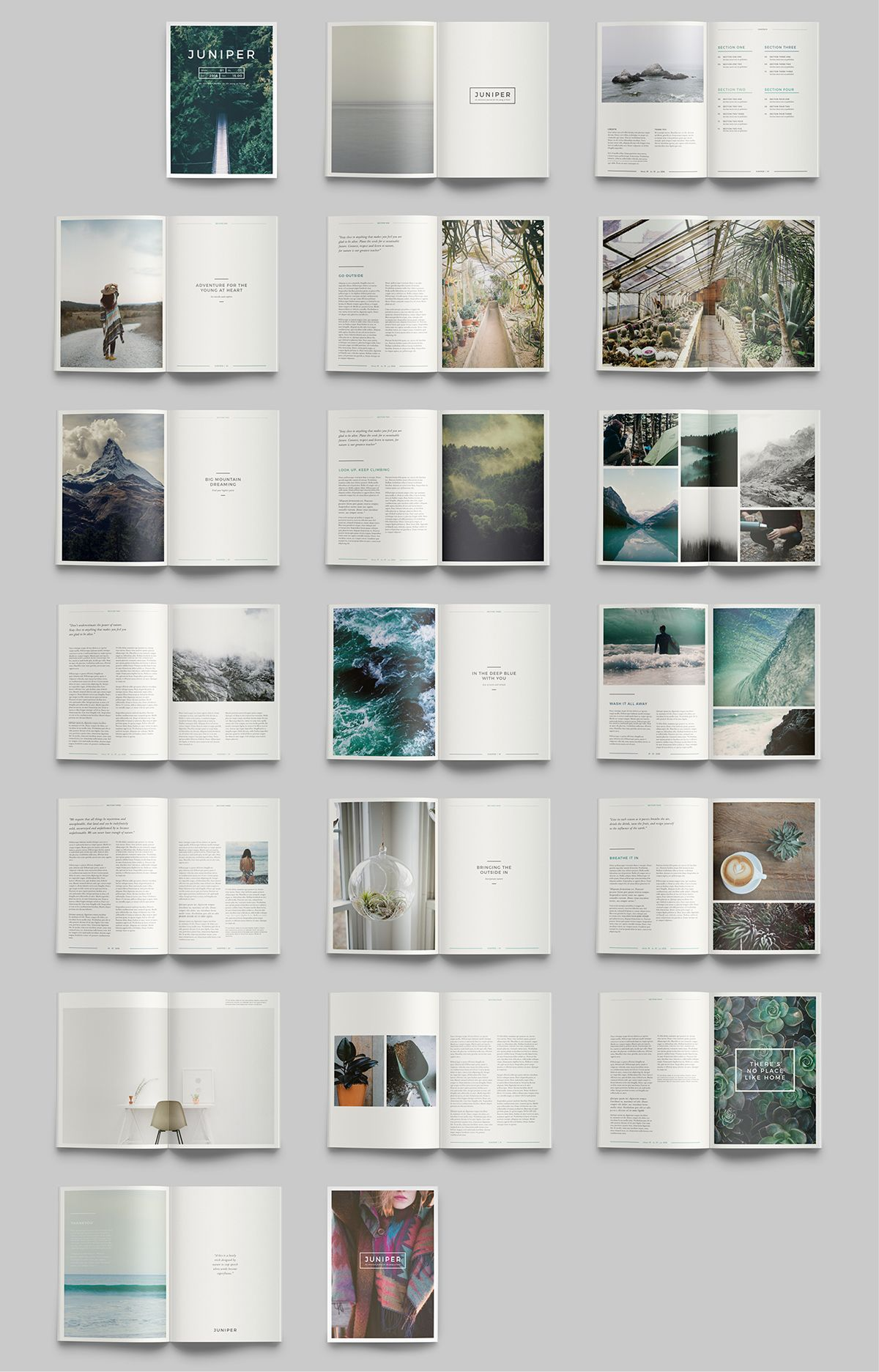 A Design Publication For Lovers Of All Things: J U N I P E R Magazine / Portfolio On Behance