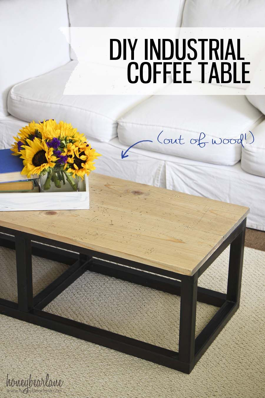 Diy industrial coffee table industrial coffee and diy coffee table diy industrial coffee table geotapseo Choice Image