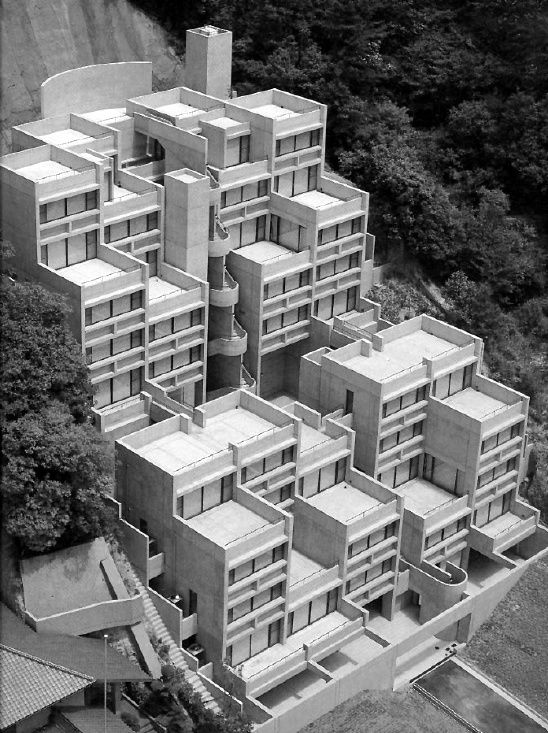 Rokko housing pharse ando tadao st dtebau pinterest st dtebau - Beruhmte architektur ...
