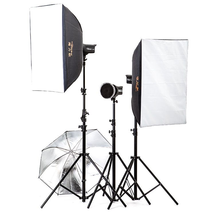 >> Click to Buy << studio lighting equipment video flash 500w studio flash lamp photography light set softbox clothes photographic equipment NO00DC #Affiliate