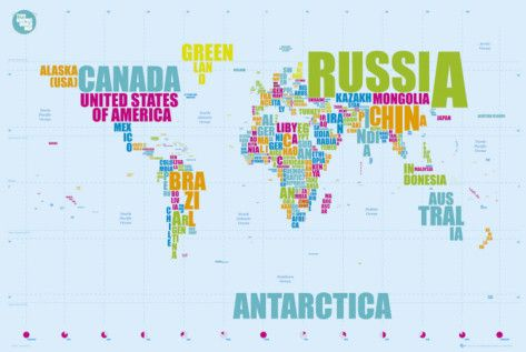 World map in words word poster geography and classroom decor hanging this in my classroom would make it so easy for kids to cheat on their worldmapposter gumiabroncs Choice Image